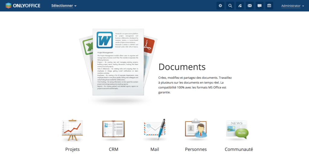 OnlyOffice: move away from Google Docs and Office365 with an online